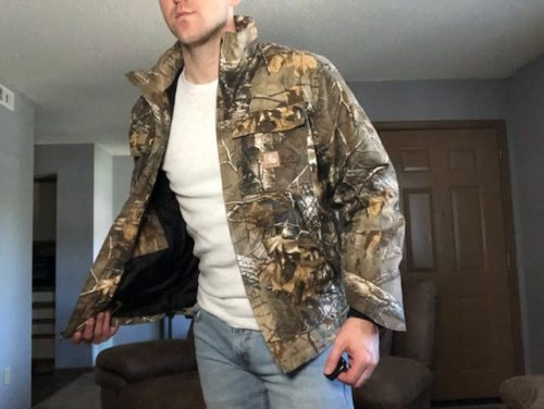 camo-carhartt-quick-duck-traditional-jacket-review-front-flap