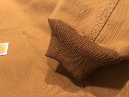 carhartt-duck-active-jacket-review-cuff