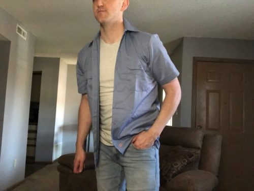 dickies-button-front-shirt