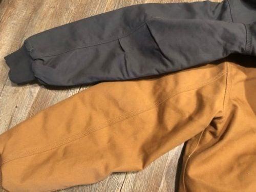 dri-duck-vs-carhartt-jacket-elbows