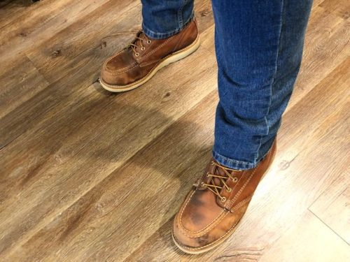 Best Moc Toe Work Boots Made in the USA