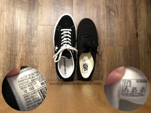 converse-one-star-vs-vans-authentic-sizing