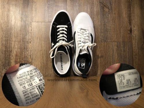 converse-one-star-vs-vans-ultrarange-sizing
