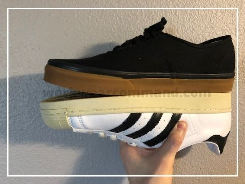 vans-authentic-vs-adidas-superstar-stacked