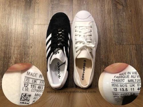 converse-jack-purcell-sizing-vs-adidas-gazelle