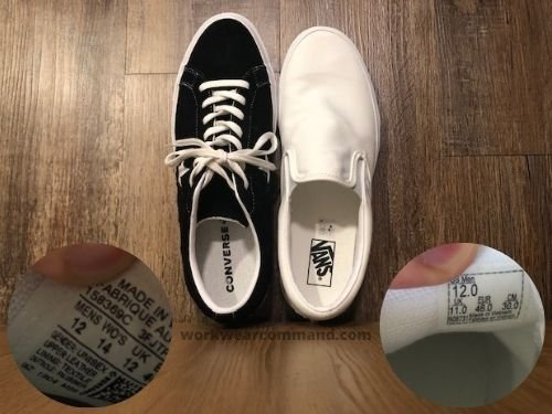 one-star-converse-sizing-vs-vans-slip-on