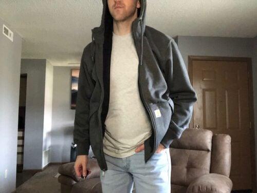 rain-defender-carhartt-thermal-hoodie-worn