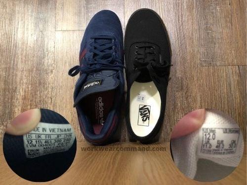 vans-authentic-sizing-vs-adidas-busenitz