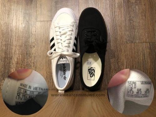vans-authentic-sizing-vs-adidas-nizza