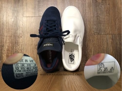 vans-slip-on-sizing-vs-adidas-busenitz