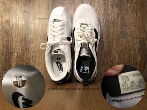 vans-ultrarange-sizing-vs-nike-cortez