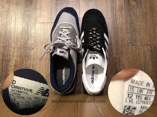 adidas-gazelle-sizing-vs-new-balance-997